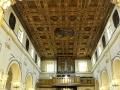 Navata centrale, Porta del Carmine. Abbazia di San Michele Arcangelo Procida